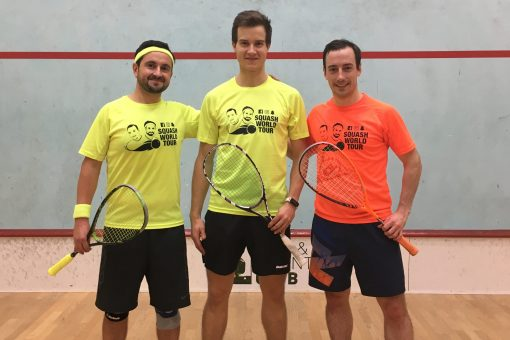 Squash World Tour meets Lukas Windischberger